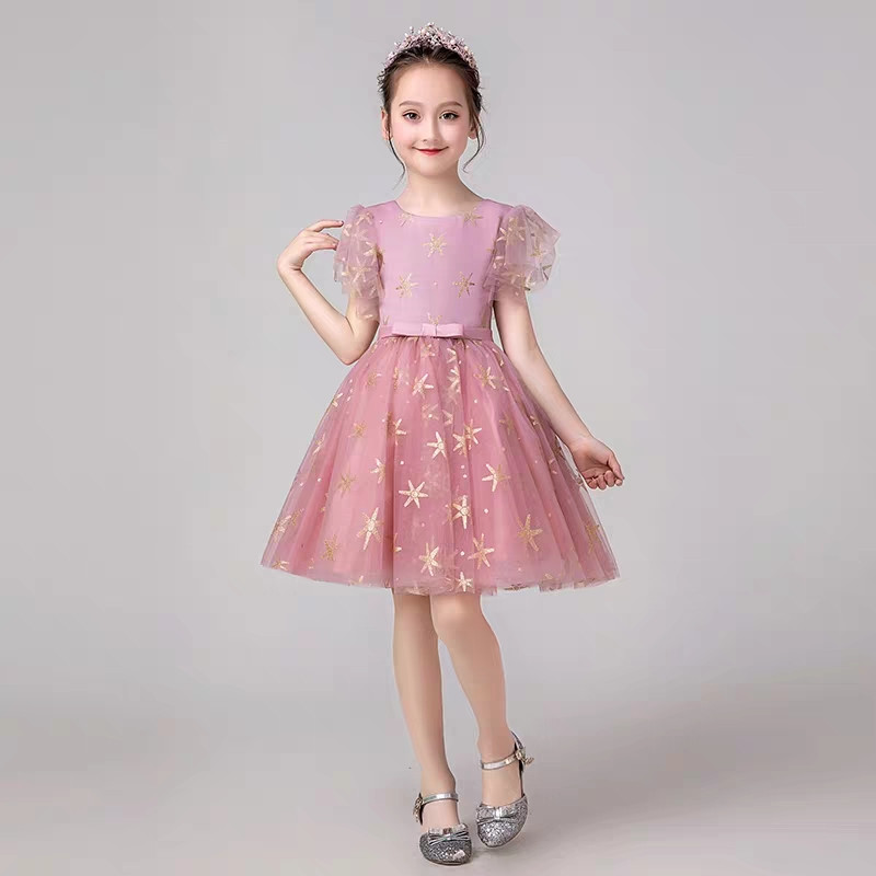 Korean Sweet Toddler Baby Birthday Holiday Party Ball Gown Dresses Kids Children Evening Party Dress 2019 First Communion DressKorean Sweet Toddler Baby Birthday Holiday Party Ball Gown Dresses Kids Children Evening Party Dress 2019 First Communion Dress
