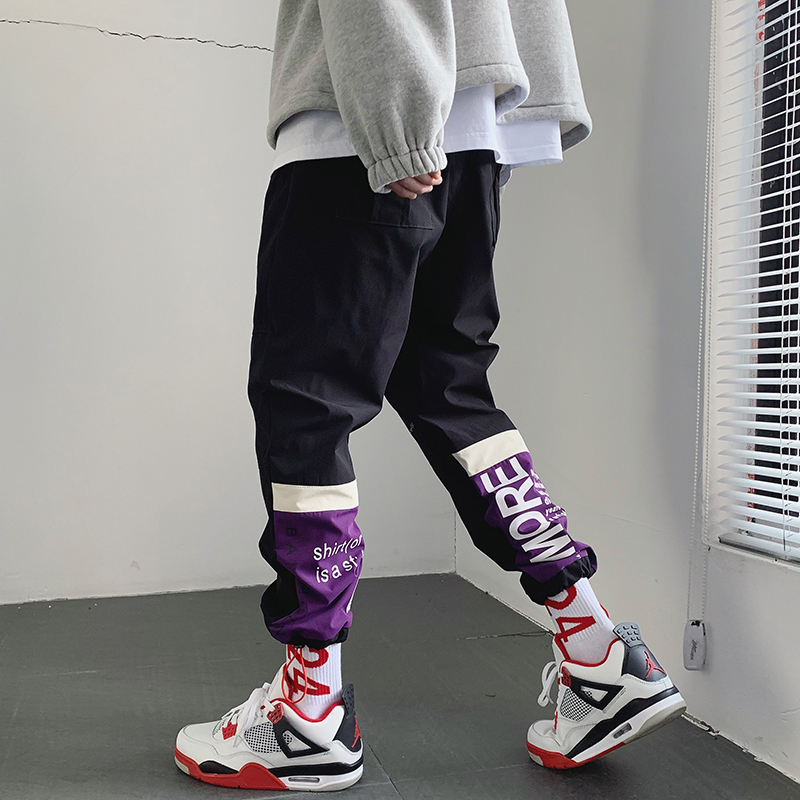 2019 Discount Only Today Cargo Pants For Men Khaki Pattern Fashion Streetwear Classic Baggy Japanese Men Cargo Pants Pocket