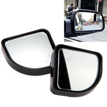 Hot 1Pair Blind Spot Mirror Convex Wide Angle Rear Side View For Car Vehicle
