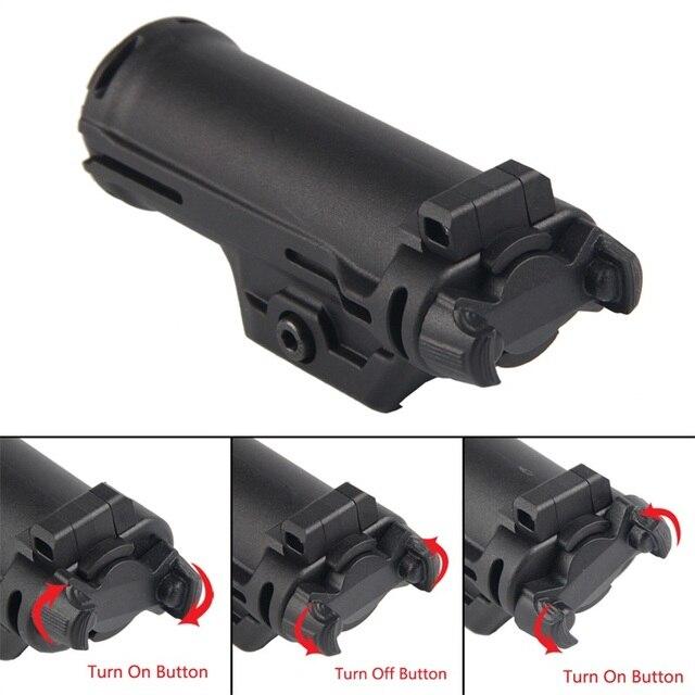 XH15 مسدس ضوء ل غلوك 350 لومينز WeaponLight مصباح ليد نشر السريع الحافظة مضيا سلاح ضوء للصيد Airsoft