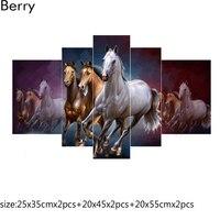 Diy Resin Square Diamond Embroidery Sale 5D Diamond Painting Cross Stitch New Horse Needlework Patterns Kits