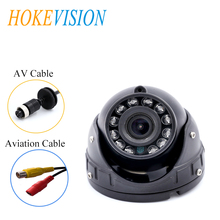 HOKEVISION Car Camera inside Night Vision Waterproof Wide Angle Surveillance camera for Bus/Vehicle/Truck/Coach front rear view стоимость