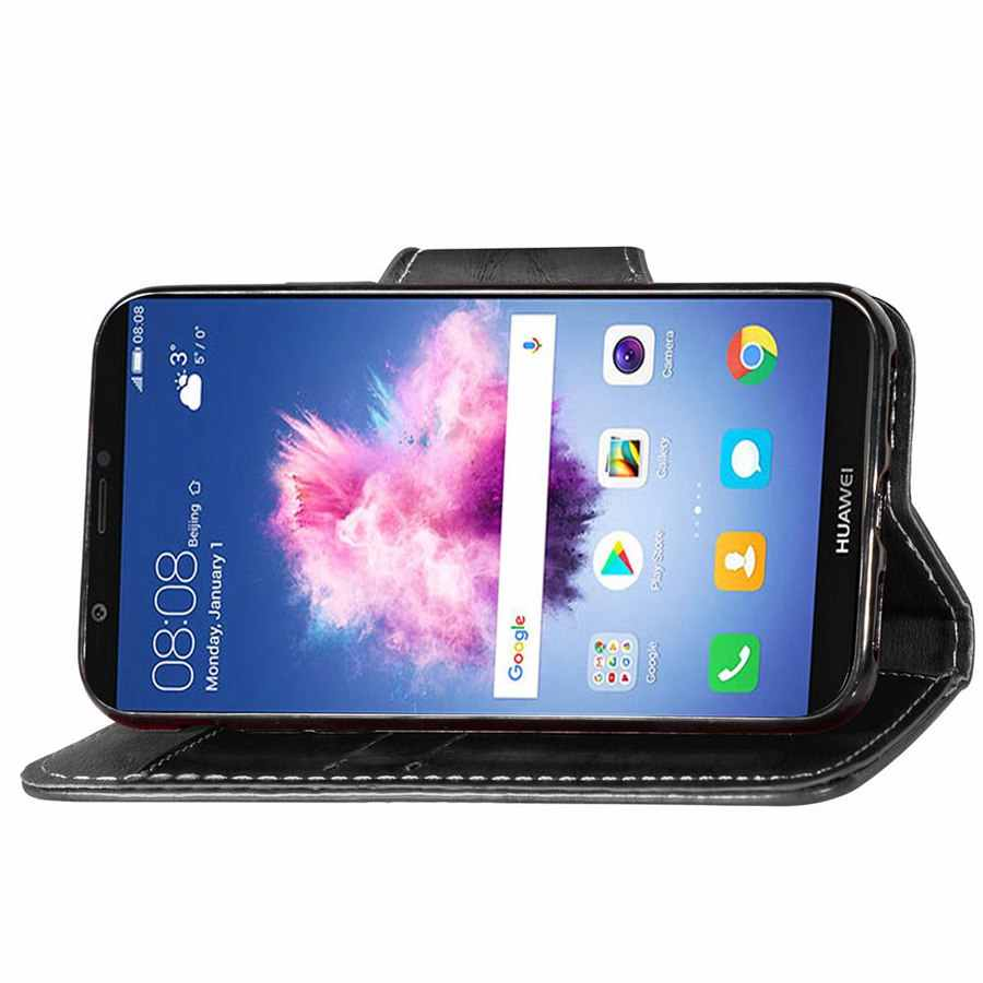 Retro Vintage Tarzı Cüzdan telefon kılıfı Için Huawei P Akıllı için 5.65 inç kapak Huawei Enjoy 7 S durumda Fundas