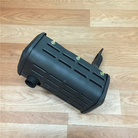 STARPAD For single cylinder air cooled diesel generator generator 178F 186F 5KW muffler silencer exhaust pipe assembly