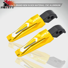 CNC Motorcycle Footrest Pegs Passenger Rear Poot For Yamaha TMAX 500 T-MAX 530 T-Max 2004-2011 TMax 2012 2013 2014