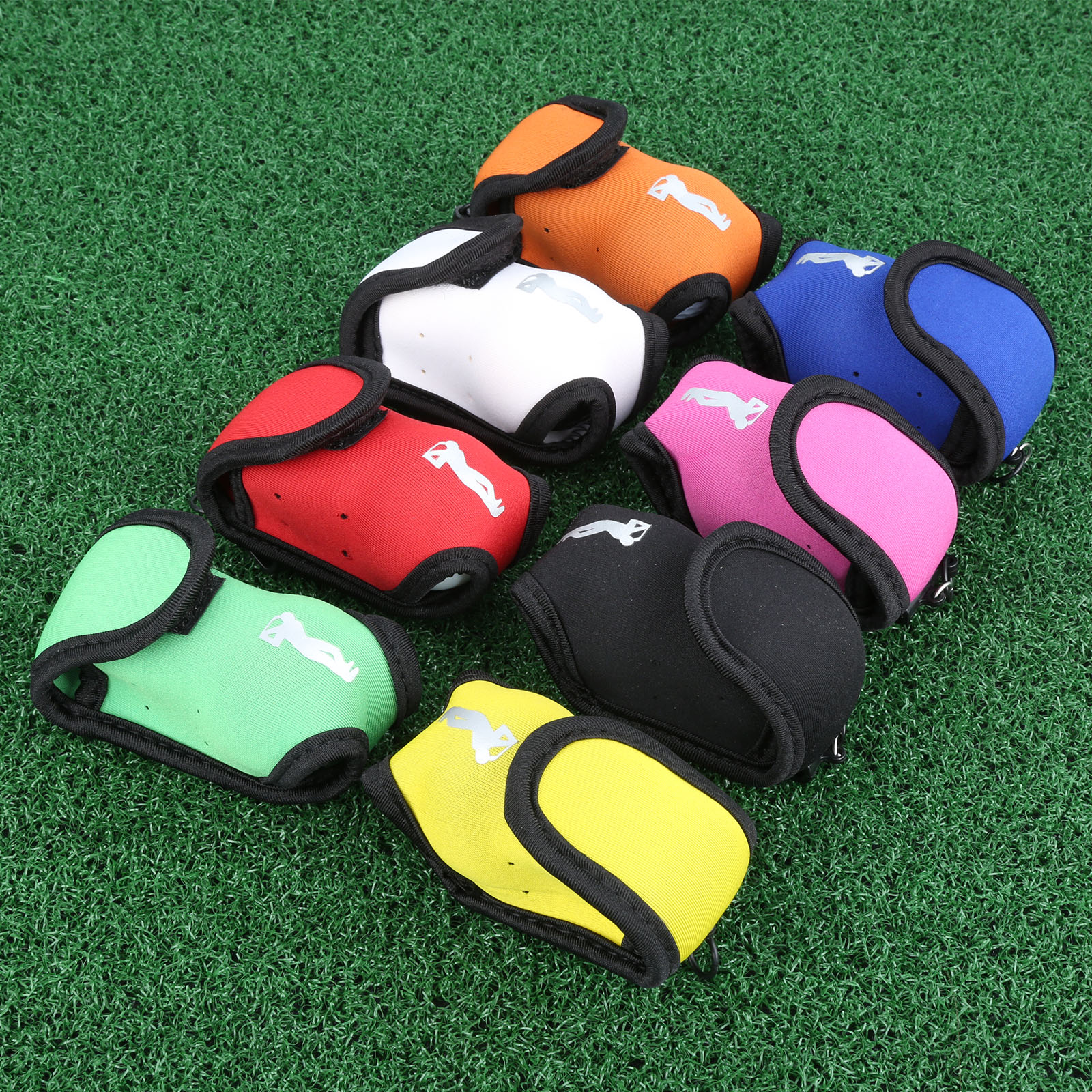 Neoprene 1 Pc Portable Mini Compact Golf Ball Bag Golf Tee Holder Storage Case Carry Pouch Small Waist Bag For Training Practice