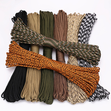 4 Size Dia 4mm 9 stand Cores Paracord for Survival Parachute Cord Lanyard Camping Climbing Camping Rope Hiking Clothesline cheap FervorFOX 18122352