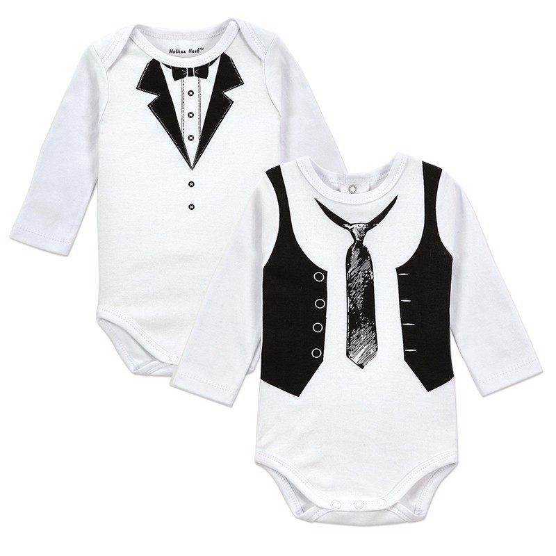 Gentleman Baby Boy Body Jumpsuit