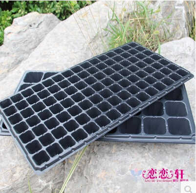 4pcs/lot.72 holes,Multifunctional seedling tray/nutrition nursery. thick.garden supplies.planter pot,nursery box