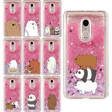 Liquid Water Case voor Samsung Galaxy J1 J2 Core Pro J3 J5 J7 Prime Plus 2017 2018 Cartoon Blote Bears panda Soft Cover Phone Case(China)