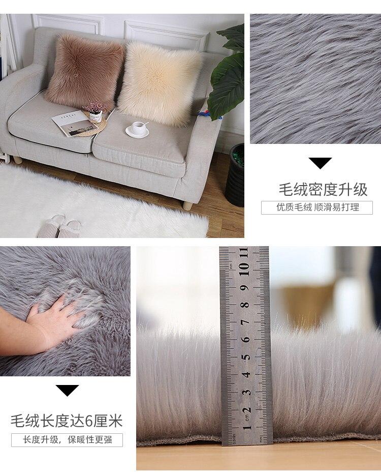 40*40cm 8 Colors Wool Mats Cushion Plush Pillows Woollen Cushions For Sofa Throw Pillow Car Home Decor Fur Pillow For Chair Toys & Hobbies
