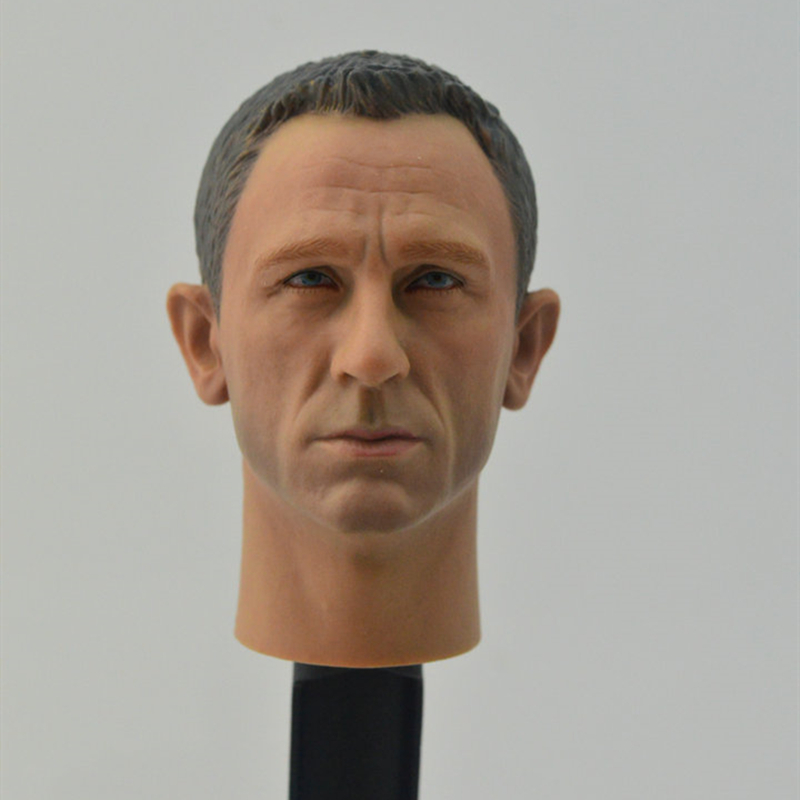 007 Agent James Bond 1//6 Headplay Daniel Craig Head Scuplt