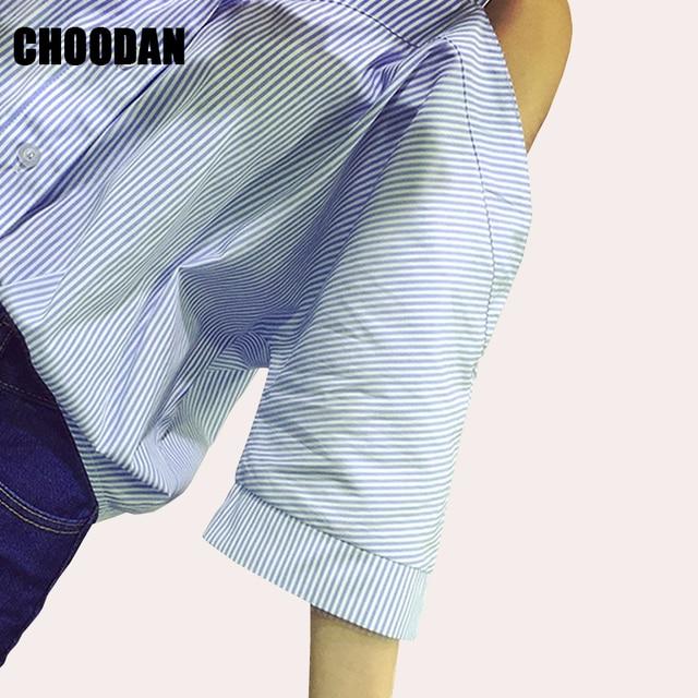 Off Shoulder Blouse Shirt Women Summer New Fashion Korean Style 2017 Sweet Slash Neck Tops Stripe Sexy Shirts Ladies Clothing