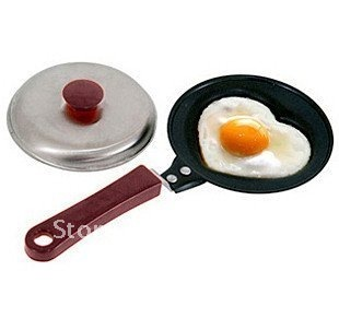 Frying Pan, Free Shipping Mini lovely Shaped Egg Fry pan Non-Stick#8737