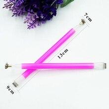 1 шт. магнитная палочка для украшения ногтей кошачьи глаза двуглавый магнит для ногтей Гель-лак 3D линия полосы эффект сильные магнитные ручки инструменты