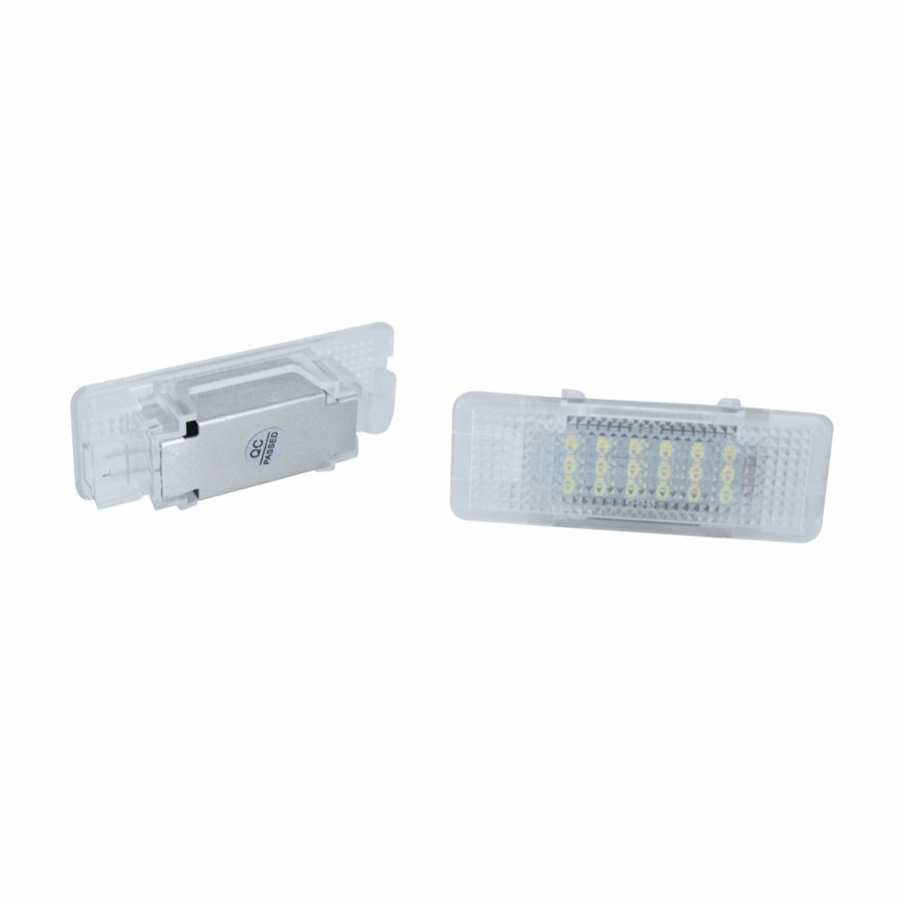 2PCS Error Free 18 LED Courtesy Footwell Under Door Lamp Interior Bulbs Lights Auto ACCESSORIES for BMW E39 E53 X5 E52 Z8