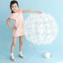 2017 Toddler Baby Dress Kid Girls Sleeveless Flower Princess Dresses Tops Clothes New