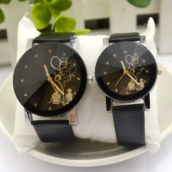 Luxury couple watch belt new Korean lover fashion retro casual watch Korean student quartz watch manufacturers reloj mujer(China)