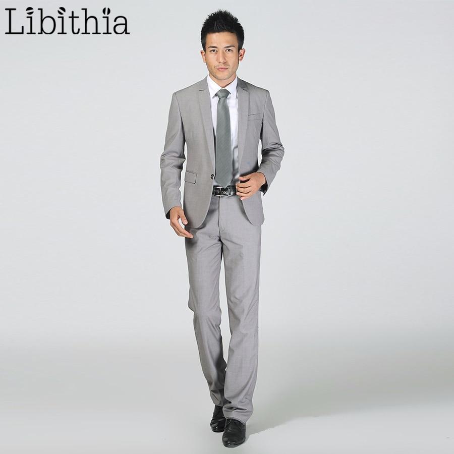 (Jakna + Hlače) Novi Muška Odijela Slim Tuxedos Marka Formalna - Muška odjeća - Foto 3