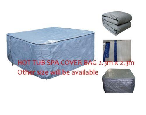 Горячая ванна спа утепленный чехол сумка 2300x2300x900 мм изолированный УФ Всепогодный
