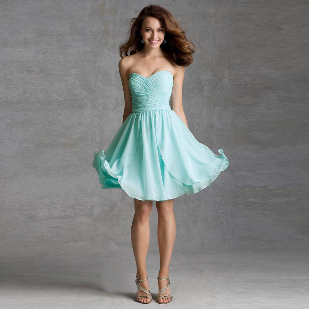Contemporary Short Junior Bridesmaid Dresses Image Collection - All ...