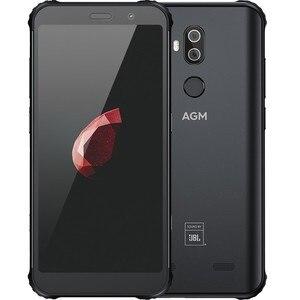 Image 2 - AGM X3 5,99 дюймов 4G LTE Android смартфон прочный IP68 мобильный телефон 8 ГБ 128 Гб мобильный телефон NFC 4100 мАч 12 Мп + 24 МП Двойная камера заднего вида