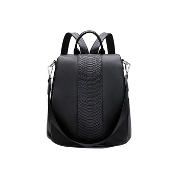 9063 New Fashion Female Single Shoulder Bag Travel Top Layer Cowhide Leather Bags Women Backpack