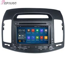 Quad Core Android 5.1 Car DVD Stereo For HYUNDAI ELANTRA 2007 2008 2009 2010 2011 With Mirror Link GPS Free Map Wifi BT