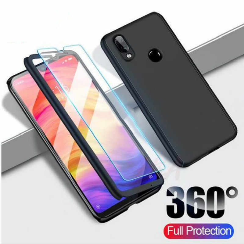 360 Degree Full Cover Phone Case For Xiaomi Redmi 6A 5A 4X 5Plus 6Pro Soft Back Shell On Redmi Note 7 6 5 Pro 5A 4XPro Case Capa