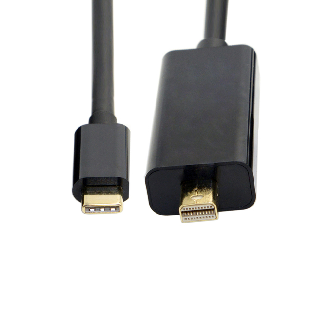 CY USB 3 1 Type C USB C to Mini DisplayPort DP Male 4K Monitor Cable for  Laptop & Laptop 1 8m-in Computer Cables & Connectors from Computer & Office