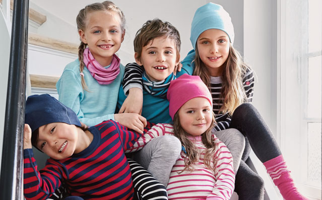 100 Merino wool kids beanies thermal unisex baby boys girls hats children bonnet outdoor skullies accessories