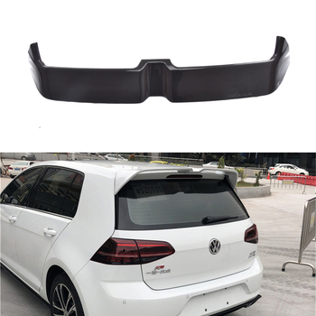 For Volkswagen VW Golf 7 MK7 2014-2019 Rear Wing Spoiler, Trunk Boot Wings Spoilers ABS paint