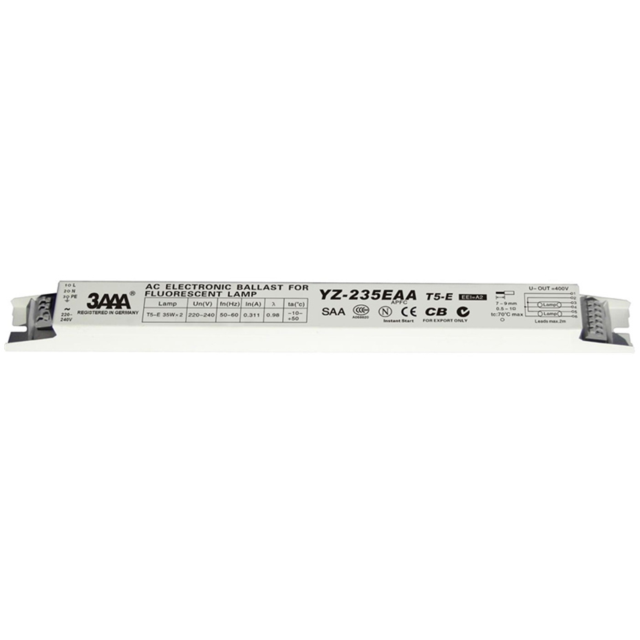 3AAA YZ-235EAA T5-E 220-240V 2*35W T5 Electronic Ballasts For T5 HO Tube Fluorescent Lamp Aquarium Lamp High Quality Rectifier лампочка foshan t5 t5 22w28w32w40w