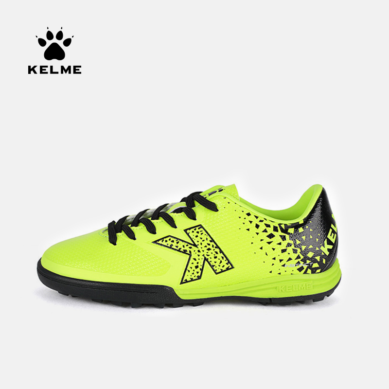 KELME Kid Soccer Shoes Football Boots TF Original Soccer Sneakers Child Football Shoes Cleats Football Sneakers Futsal Boot K98C|Soccer Shoes| |  - title=