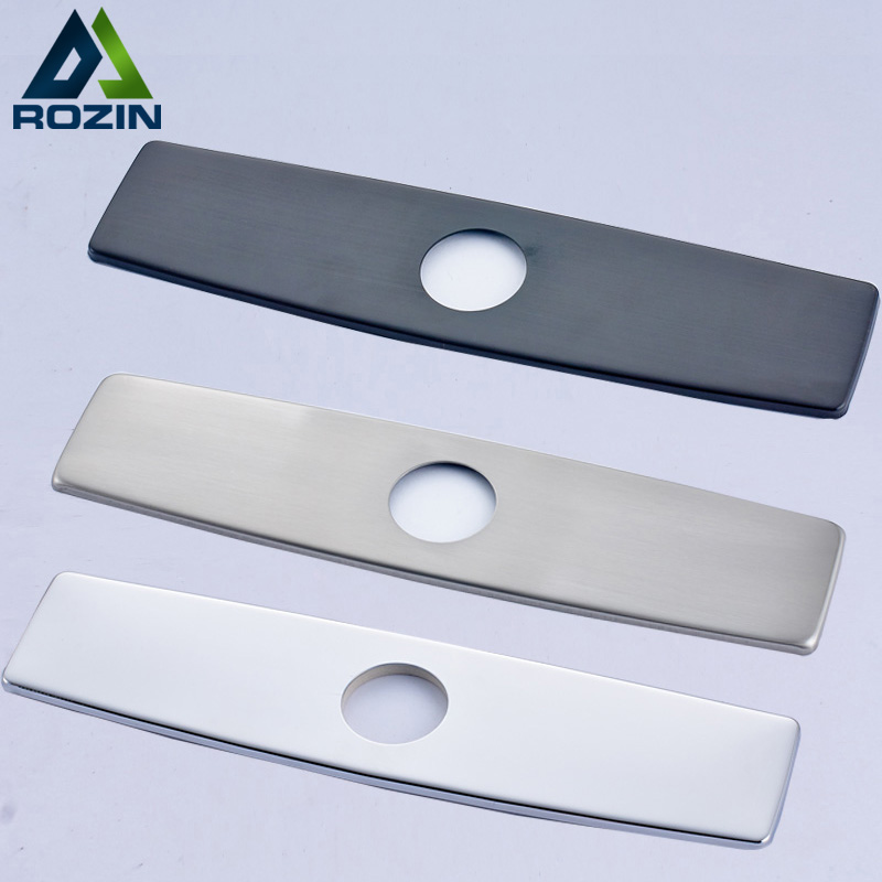Rozin Black/Brush Nickel/Chrome Finish 10