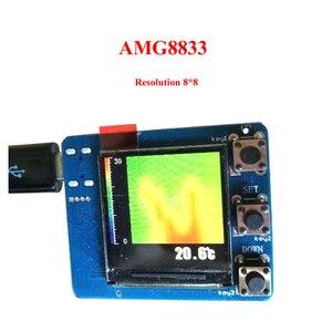Image 3 - AMG8833 IR conjunto de imágenes térmicas infrarrojas, Resolución 8x8, Módulo Sensor de temperatura, desarrollo