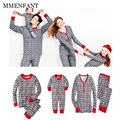 Family Christmas Pajamas Family Matching Clothes  Mother Daughter Clothes Father Son Mon New Year Family Look  Snow Print Set