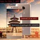 Оригинальный Letv LeEco RAM 6G ROM 64G le Max3 X850 FDD 4G сотовый телефон 5,7 дюйма Snapdragon 821 16MP 2 камера pk le max2 X820 модель
