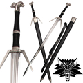 New  Medieval Sword Stainless Steel For Video Game The witcher3:Wild Hunt Replica Geralt of Rivia's Blade