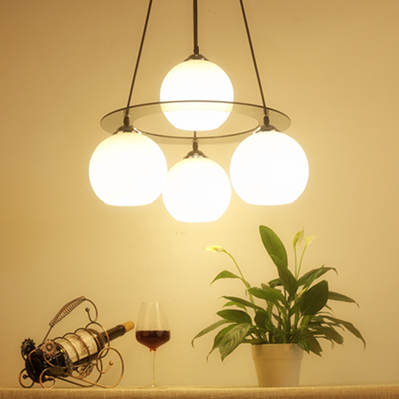 Creative Ameican Bedroom Pendant Light Glass LED E27bulb Modern Simple Living Room Lamp Home Dining Room Hotel hanging lamps fumat stained glass pendant lamps european style baroque lights for living room bedroom creative art shade led pendant lamp