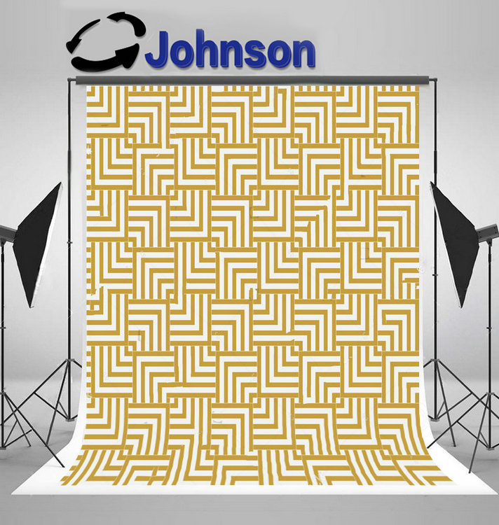 gold chevron Geometry Grid Texture Vintage photo studio background Vinyl cloth High quality Computer print wall backdrop ...