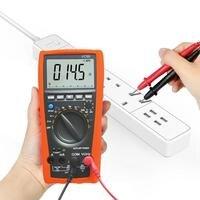 6000 Word High Precision 3 5/6 Digit Auto Range Test Device Digital Multimeter Tester Analog Bar Display Ammeter
