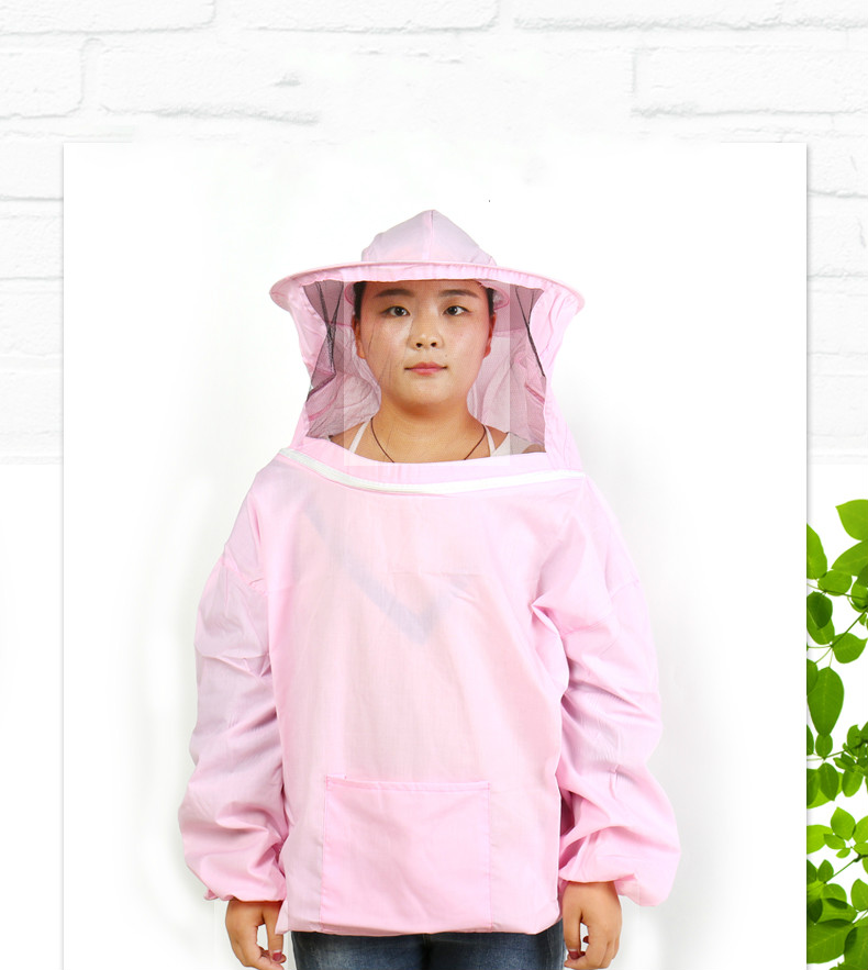 Beekeeping Tools Home & Garden Amicable 1pcs Camouflage Pink Bee Clothing Beekeeping Protective Clothing Bee Caps Protective Clothing White Bee Clothing Protection Fashionable And Attractive Packages