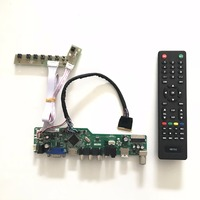 T V56 03 VGA HDMI AV Audio USB TV LED LCD Controller Board Kit For 17