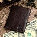Jmd cuero auténtico tarjeta de crédito monedero venta al por mayor 20 unids/lote # 8015-2C