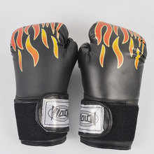 цена на High quality adult women / men boxing gloves MMA leather Muay Thai Boxe Luva gloves Sanda Equipments8 10 12 6 oz boks