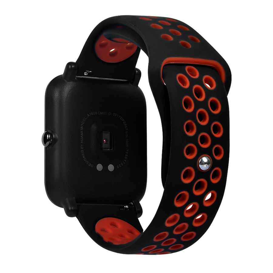 Lightweight Watch Accessories Silicone Watchband Wrist Strap Ventilate For Huami Amazfit Bip Youth Watch