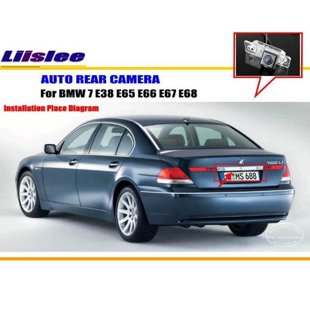 Liislee Parkplatz Kamera/Rückfahrkamera Für BMW 7 E38 E65 E66 E67 ...