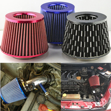 Air Intake Filter 76mm Universal Car Vehicle Induction High Power Mesh 3 Inch Auto Cold air Hood