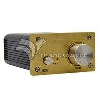 Mini Amp 2 0 Digital Audio Desktop HIFI Stereo Amplifier TDA7492 2 50W With Power Supply